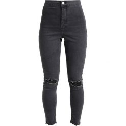Boyfriendy damskie: Topshop Petite JONI Jeans Skinny Fit black