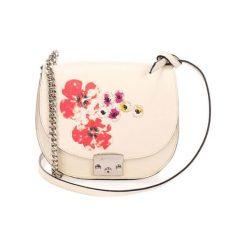 Torebki klasyczne damskie: Skórzana torebka w kolorze różowym – (S)24 x (W)22 x (G)9 cm