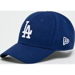 New Era - Czapka The League. Niebieskie czapki z daszkiem męskie New Era, z materiału. W wyprzedaży za 99,90 zł.