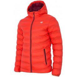 4F Męska Kurtka H4Z17 kum003 Pomarańcz L. Brązowe kurtki sportowe męskie 4f, na zimę, l, z puchu. W wyprzedaży za 209,00 zł.