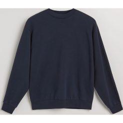 Bluza z bawełny organicznej - Granatowy. Niebieskie bluzy damskie marki Dreimaster, xs, z dzianiny. Za 139,99 zł.