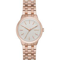 DKNY - Zegarek NY2383. Szare zegarki damskie DKNY, szklane. W wyprzedaży za 499,90 zł.