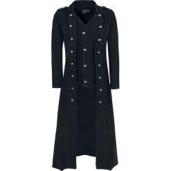 Vixxsin Walker Coat Płaszcz czarny. Czarne płaszcze na zamek męskie marki Vixxsin, s, w paski. Za 365,90 zł.