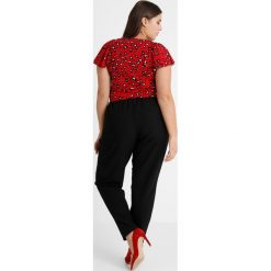 Bluzki asymetryczne: Glamorous Curve RUFFLE BLOUSE Bluzka red