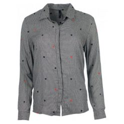 Pepe Jeans Koszula Damska Arizona, M, Szara. Szare koszule damskie Pepe Jeans, m, z jeansu. Za 390,00 zł.