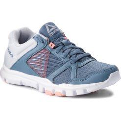 Buty Reebok - Yourflex Trainette 10 Mt CN4730 Blue/Grey/Pink/White. Niebieskie buty do fitnessu damskie Reebok, z materiału, reebok yourflex. W wyprzedaży za 159,00 zł.