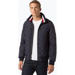 Tommy Hilfiger - Męska kurtka pikowana, niebieski. Szare kurtki męskie pikowane marki TOMMY HILFIGER, z bawełny. Za 799,95 zł.