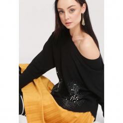 Czarny Sweter Beyond Doubt. Czarne swetry klasyczne damskie marki other, na jesień, l. Za 74,99 zł.