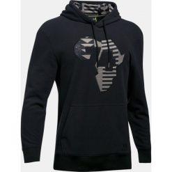 Bluzy męskie: Under Armour Bluza męska x ALI Rumble Hoodie czarna r. L (1299036-001)