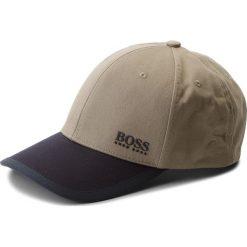 Czapka z daszkiem BOSS - Cap 15 50382415 346. Zielone czapki z daszkiem męskie Boss, z bawełny. W wyprzedaży za 199,00 zł.