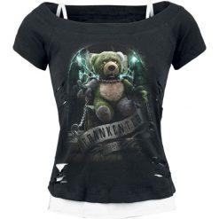 Bluzki, topy, tuniki: Spiral FrankenTed Koszulka damska czarny
