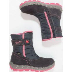 Superfit ICEBIRD Śniegowce charcoal. Czarne buty zimowe damskie marki Superfit, z materiału. W wyprzedaży za 271,20 zł.