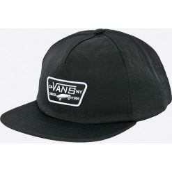 Vans - Czapka. Czarne czapki z daszkiem męskie marki Vans, z nylonu. W wyprzedaży za 79,90 zł.