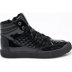 Geox - Buty. Czarne buty sportowe damskie Geox, z gumy. W wyprzedaży za 299,90 zł.