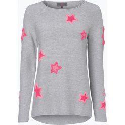 Swetry klasyczne damskie: Lieblingsstück – Sweter damski – Kija, szary