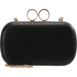 Kopertówki damskie: Missguided RING DETAIL BOX Kopertówka black