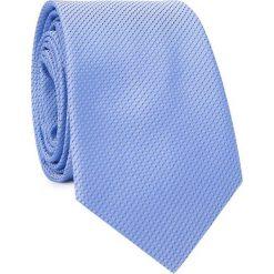 Krawat KWNS001665. Niebieskie krawaty męskie Giacomo Conti, z mikrofibry, klasyczne. Za 69,00 zł.