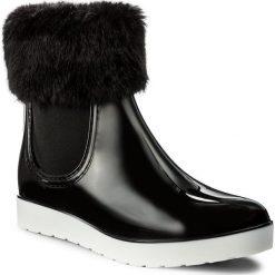 Kalosze GIOSEPPO - 40862 Black. Czarne buty zimowe damskie Gioseppo, z materiału. W wyprzedaży za 189,00 zł.