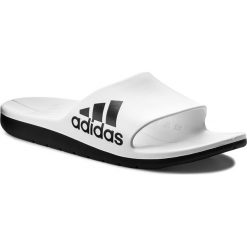 Chodaki męskie: Klapki adidas - Aqualette Cf CM7927 Ftwwht/Cblack/Cblack