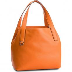Torebka COCCINELLE - DE5 Mila E1 DE5 11 02 01 Flash Orange R12. Brązowe torebki klasyczne damskie Coccinelle, ze skóry, zdobione. Za 1049,90 zł.