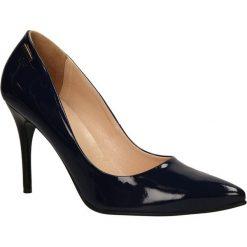CZÓŁENKA MM OLEKSY 1225. Czarne buty ślubne damskie Casu. Za 209,99 zł.