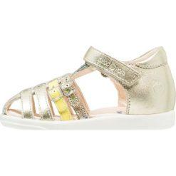 Shoo Pom PIKA SPART Sandały platine. Żółte sandały chłopięce marki Shoo Pom, z materiału. Za 299,00 zł.