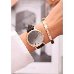 Biżuteria i zegarki: Czarny Zegarek Perfekt