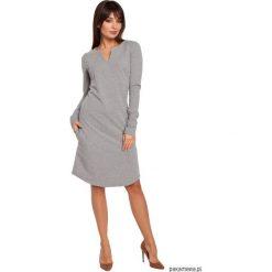 Odzież: Sukienka z półokrągłym dołem