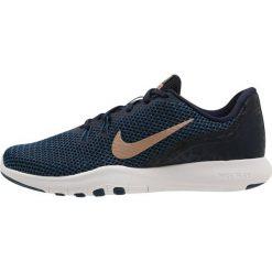 Buty do fitnessu damskie: Nike Performance FLEX TRAINER 7 PRINT Obuwie treningowe obsidian/metallic red bronze/blue force