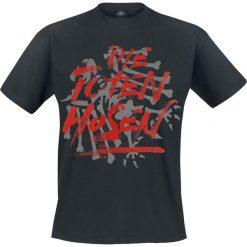 Die Toten Hosen Schriftzug und Adler T-Shirt czarny. Czarne t-shirty męskie Die Toten Hosen, l. Za 62,90 zł.