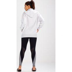 Bluzy rozpinane damskie: Ivy Park LOGO ZIP THRU  Bluza z kapturem light grey marl/black