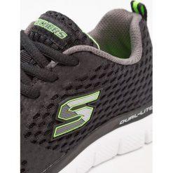 Skechers FLEX ADVANTAGE 2.0 QUICK CONTACT Tenisówki i Trampki black. Szare tenisówki męskie marki Skechers, z materiału. Za 219,00 zł.