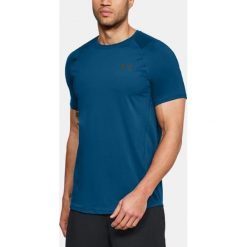 Under Armour Koszulka męska Raid 2.0 SS Left Chest  487 Blue r. L (1323415). Niebieskie koszulki sportowe męskie marki Under Armour, l. Za 109,46 zł.