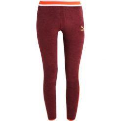 Spodnie dresowe damskie: Puma Spodnie treningowe burgundy
