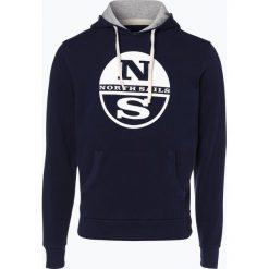 Bejsbolówki męskie: North Sails - Męska bluza nierozpinana, niebieski