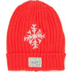 Czapka damska Neonowa śnieżynka pomarańczowa. Brązowe czapki zimowe damskie marki Art of Polo. Za 36,52 zł.