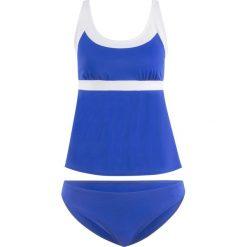 Stroje kąpielowe damskie: Tankini (2 części) bonprix błękit królewski