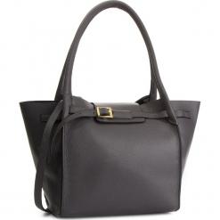 Torebka CREOLE - K10573  Szary. Szare torebki klasyczne damskie Creole, ze skóry, duże. W wyprzedaży za 239,00 zł.