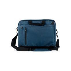 MODECOM ABERDEEN 15 TOR-MC-ABERDEEN-15-BLU NIEBIESKA. Niebieskie torby na laptopa Modecom, w paski, z materiału. Za 117,41 zł.