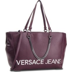 Torebka VERSACE JEANS - E1VSBBB3 70709 331. Fioletowe torebki klasyczne damskie Versace Jeans, z jeansu. Za 799,00 zł.