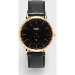 Casio - Zegarek LTP.E148GL.1AEF. Czarne zegarki męskie marki Fossil, szklane. Za 479,90 zł.
