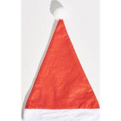 Czapka świąteczna - Czerwony. Czerwone czapki damskie Sinsay. Za 5,99 zł.