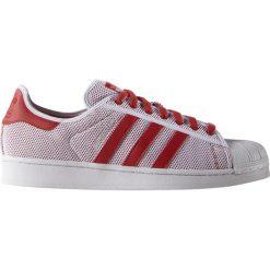 """Buty adidas Superstar Adicolor """"Collegiate Red"""" (S76502). Czerwone halówki męskie Adidas, z materiału, adidas superstar. Za 199,99 zł."""