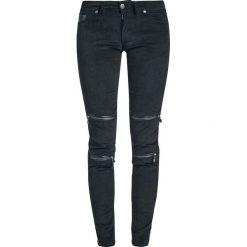 Spodnie damskie: Gothicana by EMP Megan Jeansy damskie czarny