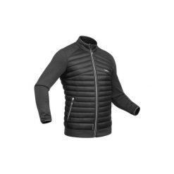Kurtka narciarska wewnętrzna 900 męska. Czarne kurtki męskie puchowe WED'ZE, m, z elastanu, narciarskie. Za 179,99 zł.