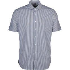 Koszule męskie na spinki: Koszula – Tailored – w kolorze granatowo-białym