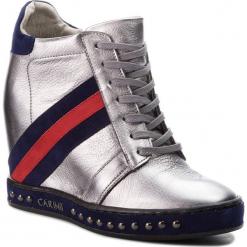 Sneakersy CARINII - B4476  L91-H40-L93-C98. Szare sneakersy damskie Carinii, z materiału. W wyprzedaży za 249,00 zł.