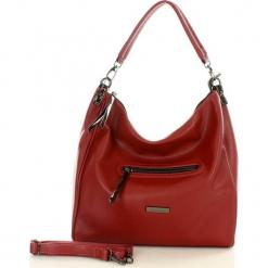 MONNARI Funkcjonalna torebka miejska bordowy. Czerwone torebki klasyczne damskie Monnari, w paski, ze skóry. Za 159,00 zł.