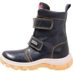 Naturino NATURINO URAL Śniegowce bleu/mais. Niebieskie buty zimowe chłopięce Naturino, z materiału. W wyprzedaży za 367,20 zł.