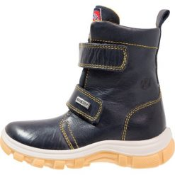 Buty zimowe chłopięce: Naturino NATURINO URAL Śniegowce bleu/mais